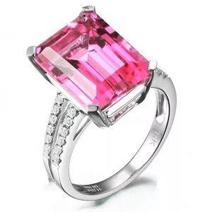 Pink Ametrine Ring (D24)
